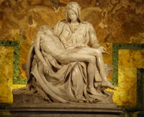 Michaelangelo's Pieta.