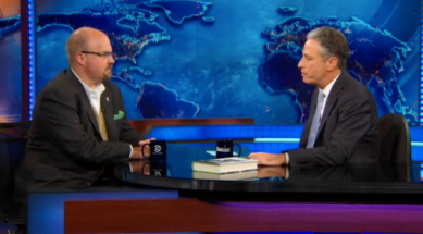 Brian discusses Jim Henson on The Daily Show with John Stewart.