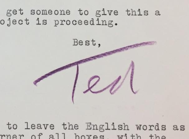 Ted sig